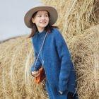 Long-Sleeve Sweater Dress 1596