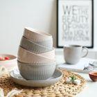 Ribbed Ceramic Plate / Bowl 1596