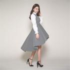 Sleeveless Dip-Back A-Line Dress 1596