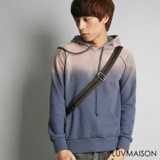 Buy LUVMAISON Gradient Hooded Pullover 1021628546