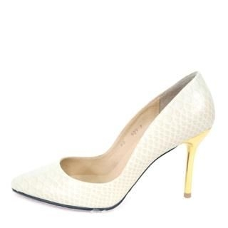 Buy AKA Faux-Leather Pointy Pumps 1022421034