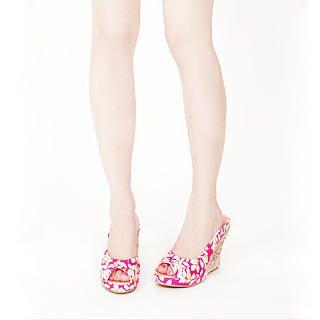 Buy KAWO Floral Print Wedges 1022898890