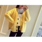 Ribbed Cardigan 1596