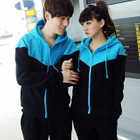 Set: Couple Color-Block Hoodie + Pants от YesStyle.com INT