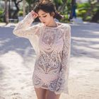 Lace Swimsuit Cover-Up 1596