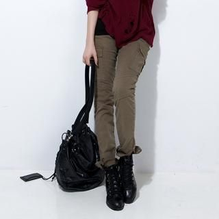 Picture of MoDN Slim-Fit Cargo Pants 1023064628 (Womens Slim-Fit Pants, Womens Cargo Pants, MoDN Pants, South Korea Pants)