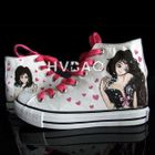 Fashion Girl High-Top Canvas Sneakers от YesStyle.com INT