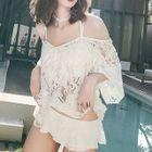 Set: Lace Bikini + Cover-Up 1596