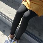 Ribbed Leggings Pants 1596