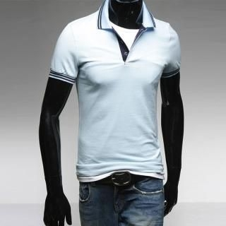 Buy Style YOURS Contrast Trim Polo Shirt 1022407743