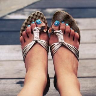 Buy Match & Match Rhinestone-Accent Thong Sandals 1022960292