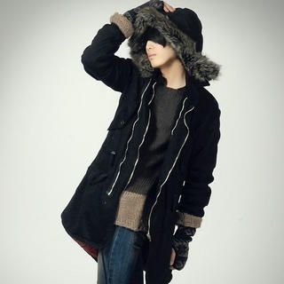 Buy deepstyle Parka with Detachable Hood 1021867019