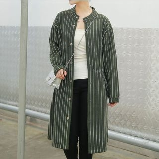 striped-snap-button-coat