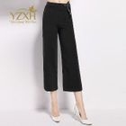 Cropped Straight-Leg Pants 1596