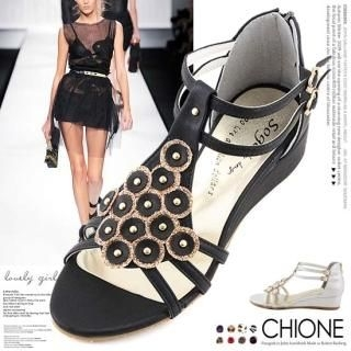Buy Chione T-Strap Sandals 1022924498