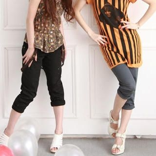 Buy ZOO Capri Pants with Suspenders 1023016419