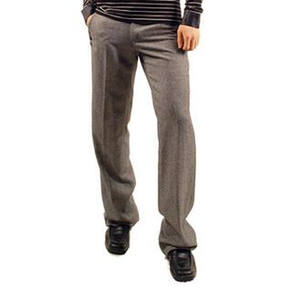Buy Purplow Pocket Buttoned Wool Pants 1004611679