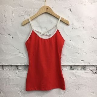Tipped Camisole Top 1060777822