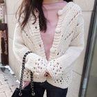 Open Knit Cardigan 1596