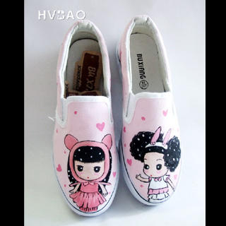 Picture of HVBAO Cute Kids Slip-Ons 1020298168 (Slip-On Shoes, HVBAO Shoes, Taiwan Shoes, Womens Shoes, Womens Slip-On Shoes)