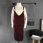 Knit Jumper Dress 1596