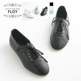 Picture of FLOY SHOES Lace-Up Flat Loafers 1023054227 (Flat Shoes, FLOY SHOES Shoes, Korea Shoes, Womens Shoes, Womens Flat Shoes)