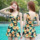 Printed Swimdress with Shorts 1596