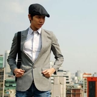 Picture of Belivus One Button Blazer 1022826079 (Belivus, Mens Jackets, Korea)