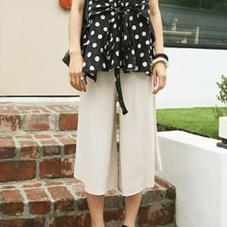 Buy BBon-J Wide Leg Cropped Pants 1022818829