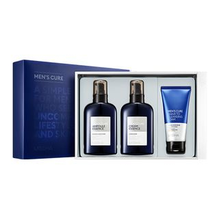 MISSHA - Mens Cure Special Set: Ampoule Essence 150ml + Cream Essence 150ml + Shave To Cleansing Foam 80ml 3pcs 1067424717