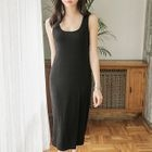 Slim-Fit Ribbed Tank Dress 1596