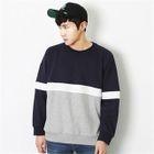 Crew-Neck Color-Block Sweatshirt 1596