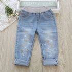 Kids Embroidery Jeans 1596