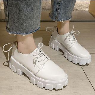 Platform | Leather | Shoe | Faux