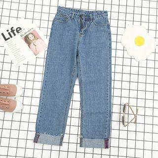 High Waist Wide Leg Jeans 1057456497