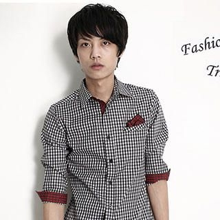Picture of SERUSH Check Shirt 1022775705 (SERUSH, Mens Tees, Taiwan)