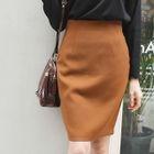 Zip-Back Pencil Skirt 1596