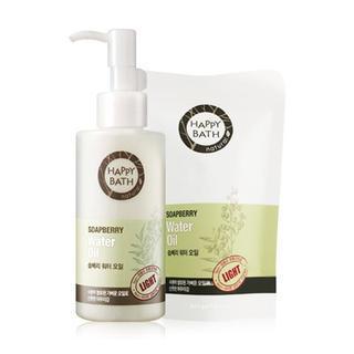 HAPPY BATH - Soapberry Set: Water Oil 145ml + Refill 80ml 1035177424