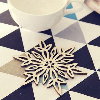 Snowflake Cup Mat 1048447508