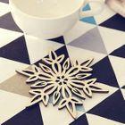 Snowflake Cup Mat 1596