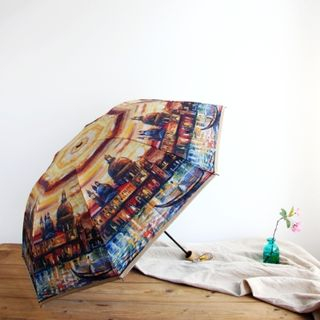 Painting Print 3-Folded Umbrella 1049621834