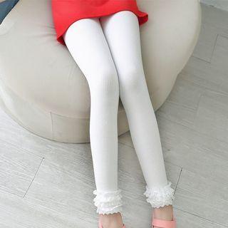 kids-lace-trim-ribbed-leggings