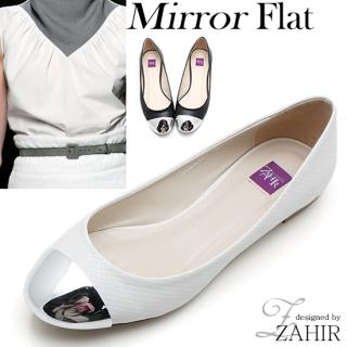 Picture of ZAHIR Metallic Accent Flats 1022410435 (Flat Shoes, ZAHIR Shoes, Korea Shoes, Womens Shoes, Womens Flat Shoes)