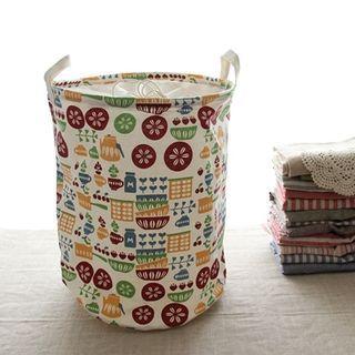 print-canvas-laundry-basket