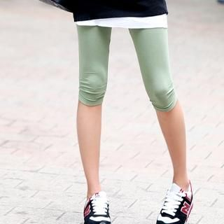 Buy REDOPIN Cropped Leggings 1023038509