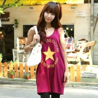 Buy Jean Stone Print Tank Dress 1022816731