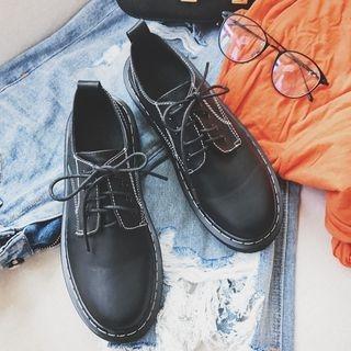 Platform Lace Up Shoes 1062098327