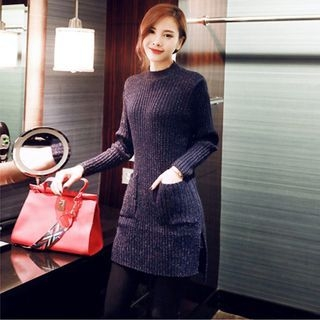 Ribbed Sweater Dress 1056034023