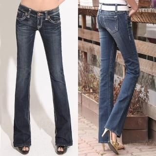Picture of Blue Is Boot-cut Jeans 1022473988 (Womens Boot-Cut Pants, Blue Is Pants, South Korea Pants)