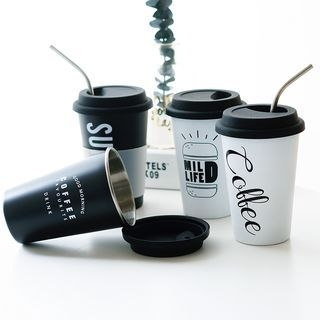 Printed Cup with Lid 1064872649